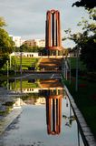 Mausoleum. Image of mausoleum in Carol Park, Bucharest, Romania Royalty Free Stock Image