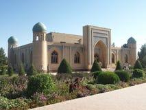 Mausoleum of Al-Hakim al-Termezi, Uzbekistan. Stock Photo