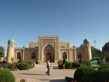 Mausoleum of Al-Hakim al-Termezi, Uzbekistan. Stock Image