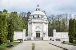 Mausoleum of The Andrassy family near castle Krasna Horka, Slova Royalty Free Stock Photo