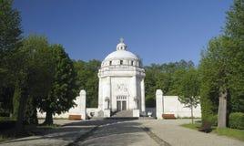 Mausoleum of Andrassy near castle Krasna Horka Royalty Free Stock Photos
