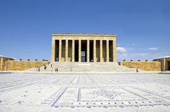 Mausoleum of Ataturk Royalty Free Stock Photography