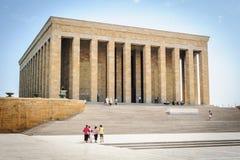 Mausoleum of Ataturk Royalty Free Stock Photos