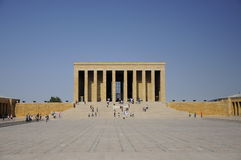 Mausoleum of Ataturk in Ankara Royalty Free Stock Images