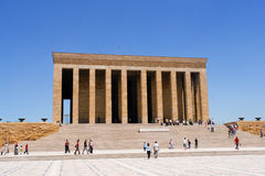 Mausoleum of Ataturk in Ankara Turkey Stock Photos