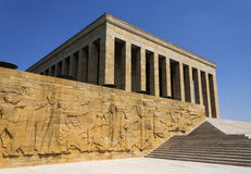 Mausoleum of Ataturk Royalty Free Stock Photo