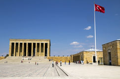 Mausoleum of Ataturk Royalty Free Stock Photos