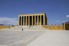 Mausoleum of Ataturk Stock Images