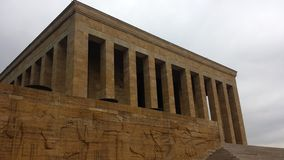 Mausoleum of Ataturk in Turkey Royalty Free Stock Images