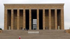 Mausoleum of Ataturk in Turkey royalty free stock photography