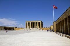 Mausoleum av Ataturk Fotografering för Bildbyråer