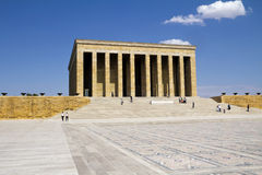 Mausoleum av Ataturk Royaltyfri Foto