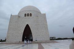 Mausoleum av azam för quaid e royaltyfria bilder