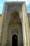 Mausoleum av den Shirvan schah, Baku, Azerbajdzjan Arkivfoton