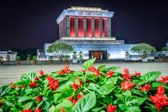 Mausoleum av Ho Chi Minh Royaltyfria Bilder