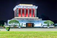 Mausoleum av Ho Chi Minh royaltyfria foton
