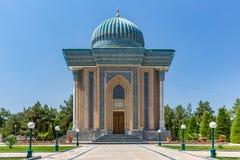 Mausoleum av Imam-al-Matrudiy i Samarkand, Uzbekistan royaltyfri fotografi
