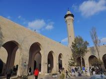 Mausoleum av Jafar al-Tayyar i Jordanien Royaltyfri Foto