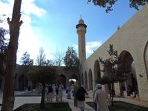 Mausoleum av Jafar al-Tayyar i Jordanien Arkivbild