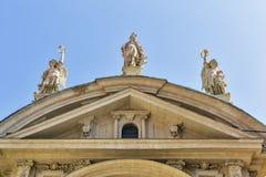 Mausoleum av kejsaren Franz Ferdinand II i Graz, Österrike Arkivbilder