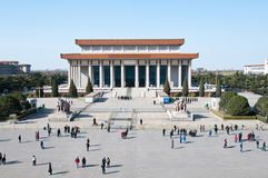Mausoleum av Mao Zedong Arkivfoton