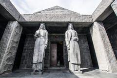 Mausoleum av Petar Petrovic Njegos, Lovcen nationalpark Royaltyfria Foton