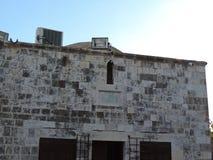 Mausoleum av Solomon, al-Aqsamoskésammansättning, Jerusalem royaltyfri fotografi