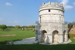 Mausoleum av Theoderic i Ravenna, Italien royaltyfri bild