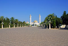 Mausoleum of Bourguiba in Tunisia in Africa Royalty Free Stock Images