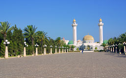 Mausoleum of Bourguiba in Tunisia in Africa Royalty Free Stock Photography
