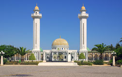 Mausoleum of Bourguiba in Tunisia in Africa Royalty Free Stock Image
