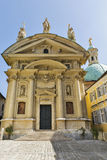 Mausoleum and Catherine Church in Graz, Austria. Royalty Free Stock Images