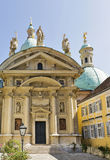 Mausoleum and Catherine Church in Graz, Austria. Stock Image