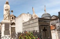 Mausoleum at Cementerio de La Recoleta Buenos Aires, Agentina Stock Photography