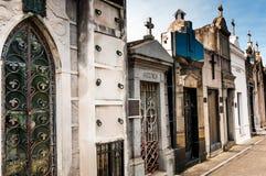 Mausoleum at Cementerio de La Recoleta Buenos Aires, Argentina Stock Photo