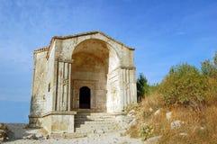 Mausoleum in Chufut-Kale Royalty Free Stock Photo