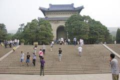 The mausoleum. Das Mausoleum von Dr.Sun Yat-Sen Stock Images