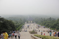 The mausoleum. Das Mausoleum von Dr.Sun Yat-Sen Royalty Free Stock Image