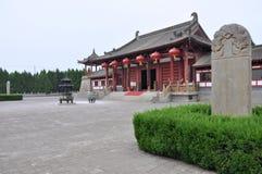 Mausoleum Datang Qinwang Lizenzfreies Stockfoto