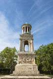 The mausoleum dedicated to the nephews of August. Saint-Remy de Provence. The remaining buildings of the city Glanum - ancient Roman city of Gaul Stock Image