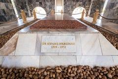 Mausoleum Dr. Kwame Nkrumah in Accra, Ghana Lizenzfreies Stockbild