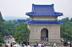 Mausoleum of Dr. Sun Yat-sen, Nanjing, China Stock Photography