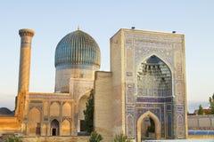 Mausoleum of Emir Timur in Samarkand Stock Image