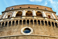 Mausoleum of Emperor Hadrian in Castel Sant`Angelo, Rome Royalty Free Stock Photography