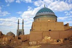 Mausoleum en moskee Stock Foto's