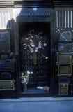 Mausoleum of Familia Duarte, burial site of Eva Peron in Buenos Aires, Argentina Royalty Free Stock Image