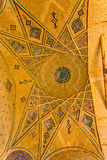 Mausoleum of famous Iranians ceiling Stock Images