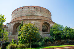 Mausoleum of Galerius. The Tomb of Galerius in Thessaloniki, a Roman mausoleum circular stock image