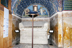 Mausoleum of Galla Placidia Royalty Free Stock Photography