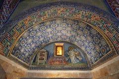 Mausoleum of Galla Placidia Royalty Free Stock Photos